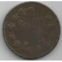Centavo Maximiliano 1864 Pobre Condicion (2)