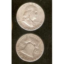 Moneda De Plata 1/2 Dolar 1948 Letra D