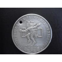 Moneda De Plata Juegos Olimpicos 1968 25 Pesos .720 Vbf