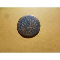 Antigua Moneda De 1/8 De R. Durango. 1824 D .