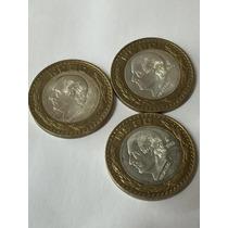 Moneda 20 Nuevos Pesos Hidalgo Fecha 1993 O 1994 Plata 0.925