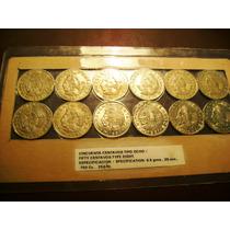 Coleccion De 12 Monedas De 50 Centavos Tipo 8 Vmj