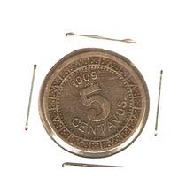 5 Cvs Nickel 1909 Clave