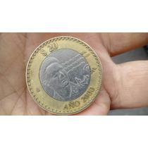 Octavio Paz En Moneda Conmemorativa Año 2000.