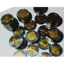 Paquete De 30 Monedas $5 Zapata S/c Brillantes En $600 Fn4