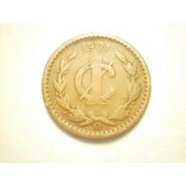 Mexico 1 Centavo Fecha 1921 Cobre