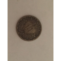 Moneda Antigua México 10 Centavos Año 1939