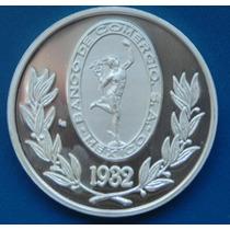 Medalla Mexico Plata Banco D Comercio Con Hermes O Mercurio