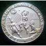 Medalla De Plata Conmemorativa Mundial De Futbol 1970
