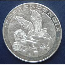 Medalla Mexico Constitucion De Apatzingan Plata Excelente