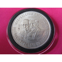 Moneda 10 Pesos 1960 Dos Caras Hidalgo Madero