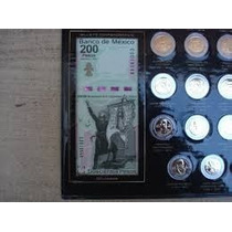 Album Monedas 5 Pesos Conmemorativas Incluyendo Sin Puntos
