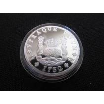 Moneda De Plata Columnaria 1/4 De Onza Proof