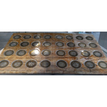 Colección Completa De 32 Monedas De Los Estados, En Plata !
