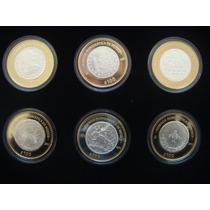 Monedas 100 Pesos Plata 6pzas Herencia Numismatica Serie 1