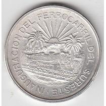 5 Pesos 1950 Ferrocarril Del Sureste