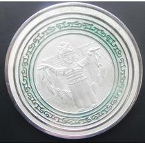 Medalla 5 Onzas Plata Veracruz En Su Estuche