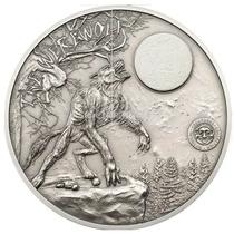 Moneda Hombre Lobo Palau 2013 Lote De 10 Piezas
