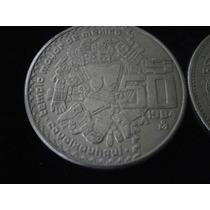Moneda 50 Pesos Coyolxauhqui Cobre-niquel Hm4