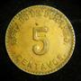 5 Centavos 1914 Durango Bronce Gran Condicion Revolucion