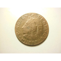 Mexico 50 Centavos Cuauhtemoc Falsa O ¿prueba? Fecha 1968