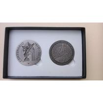 Set De 2 Medallas Bicentenario Y Centenario !!