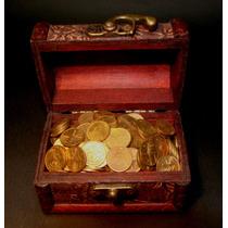 Cofre Del Tesoro Con 270 Monedas De 1 Cent 1963 Y 1964 Mo.