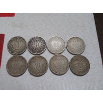 Oferta Serie Completa 10 Centavos 1936 -1946