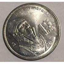 50 Monedas De 1 Peso Morelos De Diversos Años 80s Lote