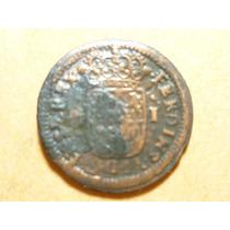 Ant.moneda 1 Maravedi Fern. Vi. Fechado 1747. Segovia.