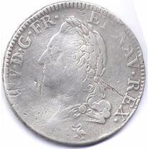 Moneda Luis Xv Plata