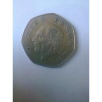 10 Pesos Hidalgo 1975 La Fecha Mas Dificil