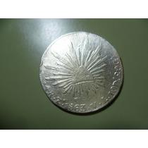 Antigua Moneda De 4 R. Plata. 1863 Zs. V. L.