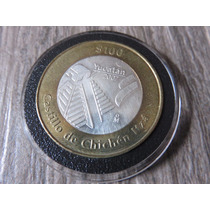 Moneda Plata 100 Pesos Yucatan Chichen Itza 2007