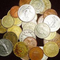 Envio Gratis Lote Monedas Extranjeras 30 Monedas
