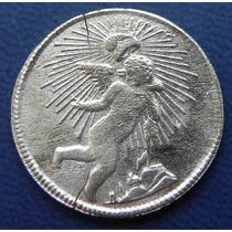 Moneda Mexico 1/8 De Real Zacatecas 1862 Alta Condicion