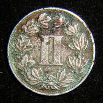Moneda Dos Ii Centavos 1882 Fecha Clave Niquel %