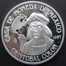 Medalla México Cristobal Colón 1987