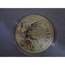 Medalla Años De Servicio Una Onza De Plata 0.999