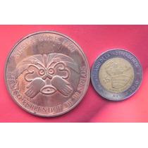 Medalla México Explanadores De 30 Siglos Nueva York 1990