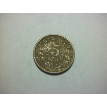 Republica Mexicana 5 Centavos Fecha 1904 Ceca Mo Plata