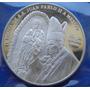Medalla Juan Pablo I I Sinodo De Obispos Para America Plata