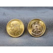 Moneda De 10 Pesos Oro Hidalgo Familia Centenario