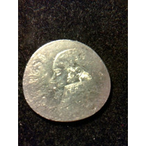 Moneda De 1 Peso Con Error Única Y Rara Forma Mal Troquel