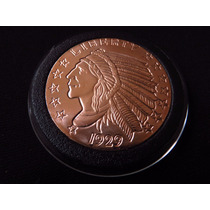 Moneda Onza De Cobre Indio Incuse #13