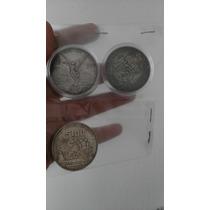 Onza De Plata Libertad+10 Pesos Hidalgo Y Madero+mundial1986