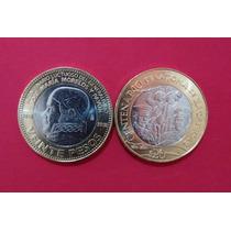 Monedas Colección 20 Pesos, Morelos, Zacatecas