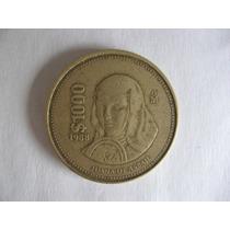 Moneda De 1,000 Pesos Mexicanos 1988 Hm4
