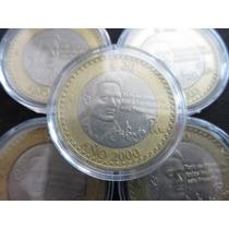 Moneda 20 Pesos Octavio Paz 2000 Con Capsula