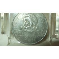 Moneda De $5.00 Cinco Pesos ( Hidalgo) 1952 Plata 0.720